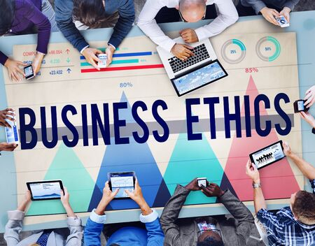 ideology: Business Ethics Honesty Ideology Integrity Concept
