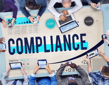law report: Compliance Rules Law Follow Regulation Concept