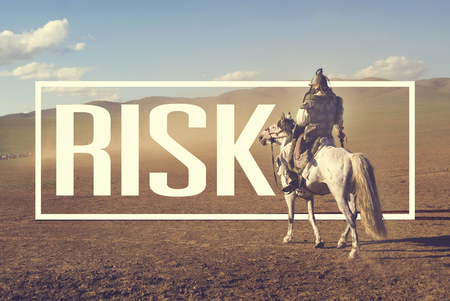 insecurity: Risk Insecurity Uncertainly Battlefield Danger Concept