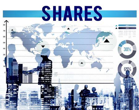 dividend: Shares Shareholder Contribution Dividend Part Concept
