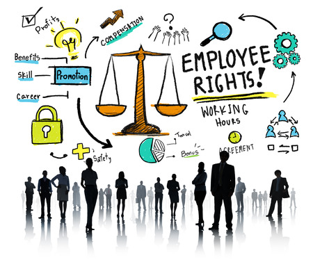 white collar worker: Employee Rights Employment Equality Job Business People Concept