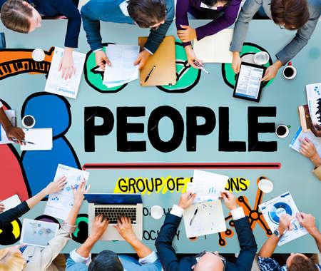 community group: People Person Group Citizen Community Concept