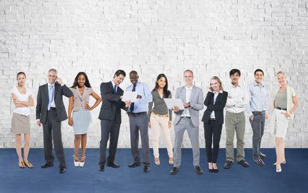 team communication: Corporate Business Team Communication Connection Concept