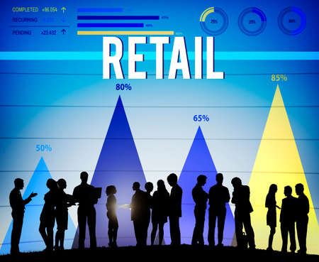 capitalismo: Retail Commerce Consumer Customer Capitalism Concept