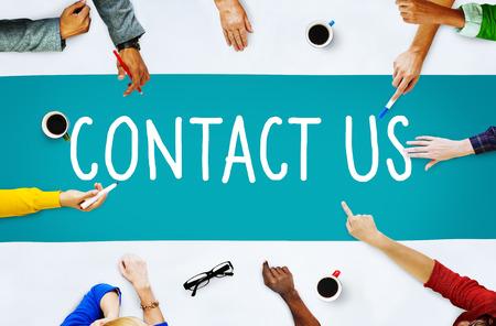 お問い合わせホットライン情報サービス顧客ケアのコンセプト