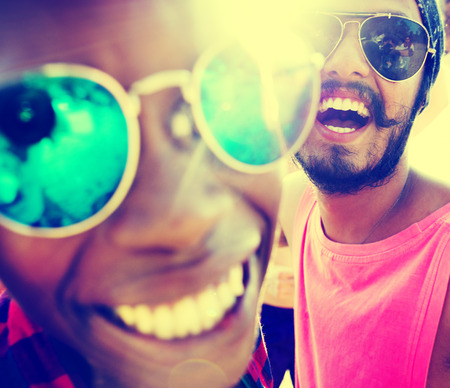 zweisamkeit: Freunde Freundschaft Zusammenhalt Vacation Fun Konzept