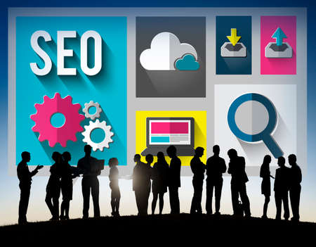 group search: SEO Internet Online Optimization Search Technology Concept
