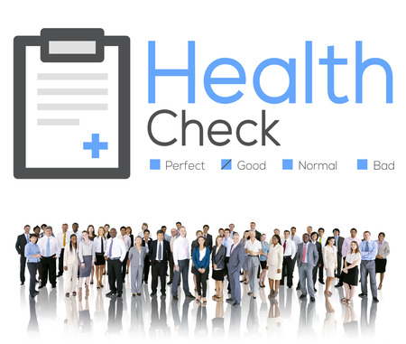 health professionals: Health Check Diagnosis Medical Condition Analysis Concept