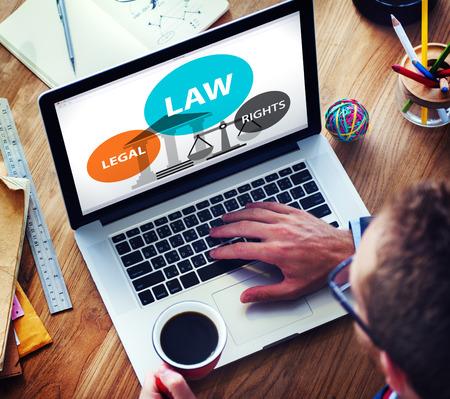 judicial: Law Legal Rights Judge Judgement Punishment Judicial Concept Stock Photo