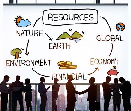 recursos naturales: Recursos Medio Natural Economía Finanzas Concepto