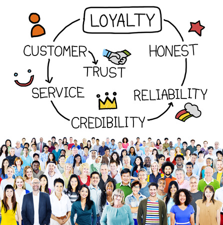Loyalty Customer Service Trust Honest Reliability Concept Stock Photo - 42941500