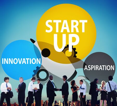 business innovation: Startup Business Plan Innovation Aspiration  Concept