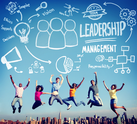 authoritarian: Leadership Leader Management Authority Director Concept Stock Photo