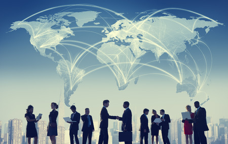 international business agreement: Business People Collaboration Team Teamwork Professional Concept