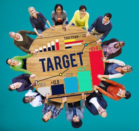 Target Goal Aspiration Aim Vision Success Concept