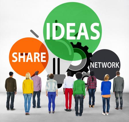 facing backwards: Ideas Innovation Creativity Knowledge Inspiration Vision Concept