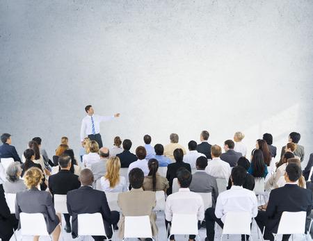 ビジネス人セミナー会議会議プレゼンテーション ・ コンセプト