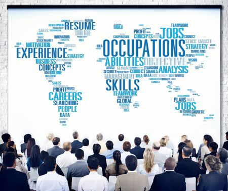 resources: Occupation Job Careers Expertise Human Resources Concept