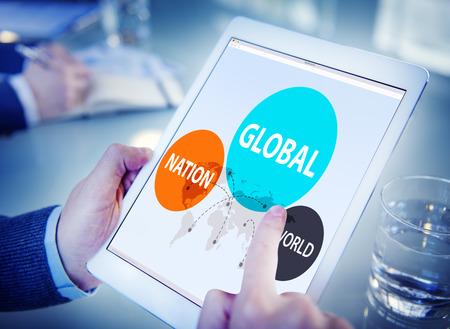 Global Nation World International Variation Unity Concept Stock Photo