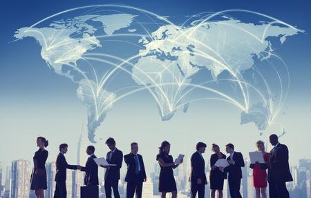 colaboracion: Hombres de negocios de colaboraci�n en equipo Trabajo en equipo Concepto Profesional
