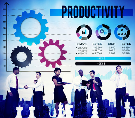 capacity: Productivity Production Efficiency Capacity Concept Stock Photo