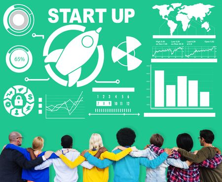 business innovation: Business Plan Startup Strategy Innovation Vision Creativity Concept