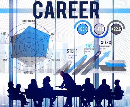 job occupation: Career Human Resources Job Occupation Concept