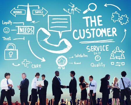 顧客サービス サポート ソリューション支援援助概念
