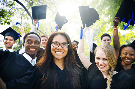 vysoká škola: Promoce Student Zahájení VŠ Concept Reklamní fotografie
