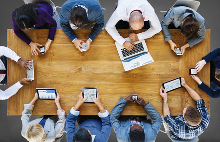 technology: Komunikační napojení Přístroje číslicové Technology Concept Reklamní fotografie