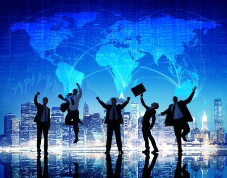 mapa mundi: Business People Collaboration Team Teamwork Professional Concept