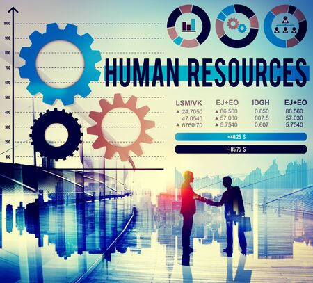 job occupation: Human Resources Hiring Job Occupation Concept Stock Photo