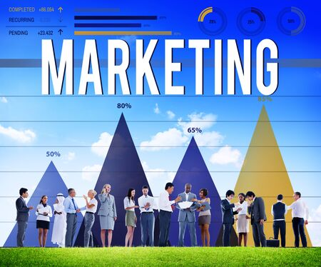 advertise: Marketing Advertise Analysis Business Commercial Concept