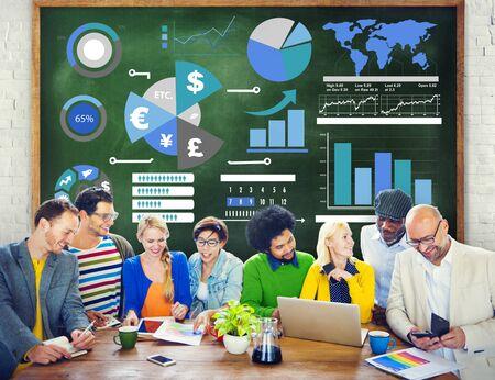 contabilidad: Finanzas Financiera de Empresas Economía de cambio contable concepto de banca