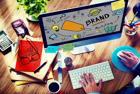 brand tag: Brand Branding Marketing Commercial Name Concept