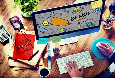 brand identity: Brand Branding Marketing Commercial Name Concept