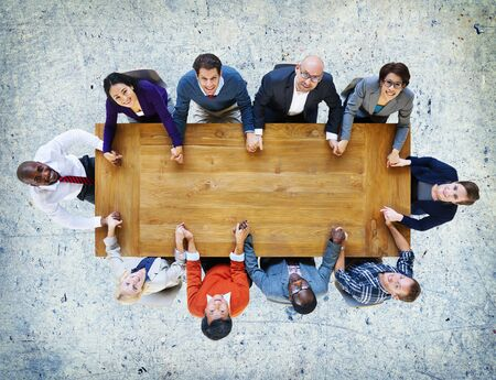business connection: Business People Team Connection Togetherness Concept Stock Photo
