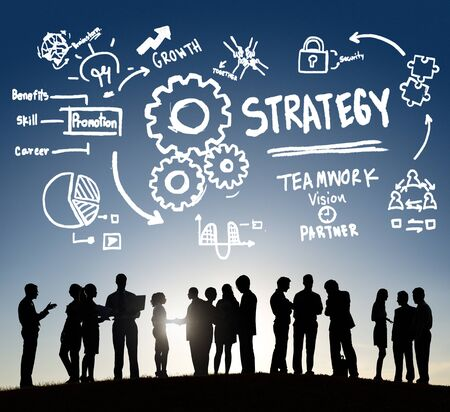 skills diversity: Strategy Solution Tactics Teamwork Growth Vision Concept