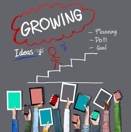 business change: Growing Process Planning Improvement Development Concept