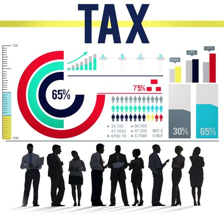 taxation: Tax Taxation Economy Income Money Financial Concept