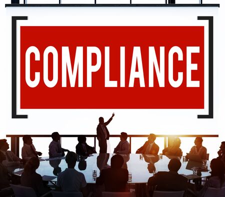 rules: Compliance Rules Regulations Policies Codes Concept Stock Photo