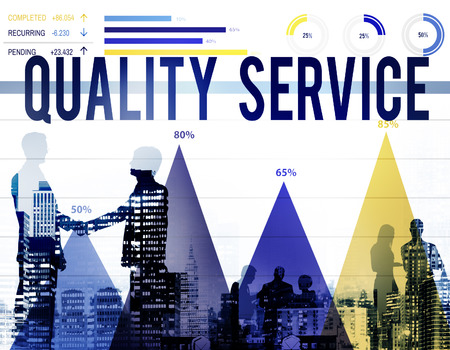 customer support: Quality Service Customer Satisfaction Support Concept Stock Photo