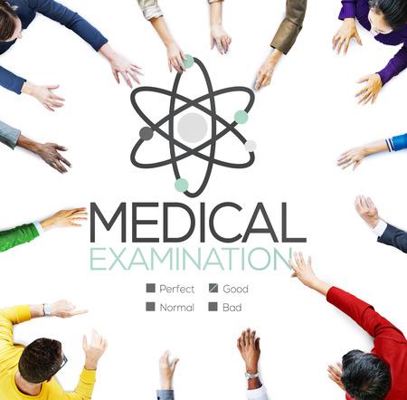 check up: Medical Examination Check Up Diagnosis Wellness Concept Stock Photo
