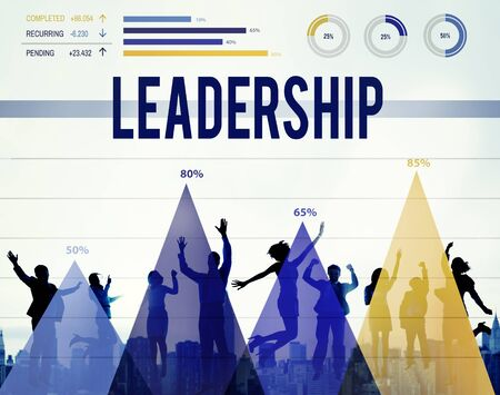 autoridad: Leader Leadership Authority Chief Coach Concept