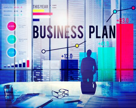 objective: Business Plan Planning Strategy Success Objective Concept