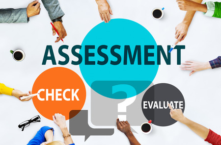 Assessment Calculation Estimate Evaluate Measurement Concept Stok Fotoğraf - 43823402