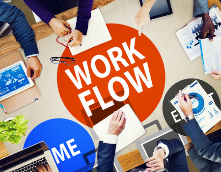 implement: Workflow Effort Implement Efficiency Business Concept