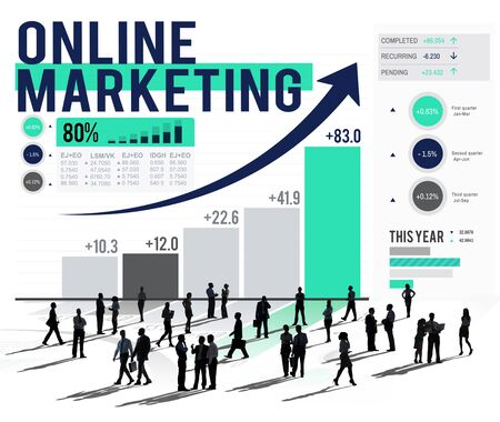 Online Marketing Advertising Commercial Brand Concept