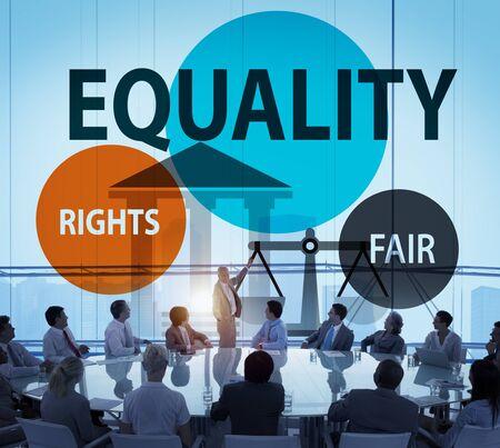 parity: Equality Parity Balance Justice Fair Concept