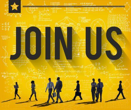 information medium: Join us Contact Business Information Medium COncept
